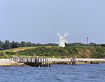 Dutch Windmill on Gardiners Island, Cherry Harbor, Gardiners Bay