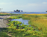 View from Shea Island out to Homes on L. Hammock Island, Ram Bay, Norwalk Islands