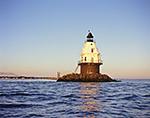 Southwest Ledge Light, New Haven Breakwater