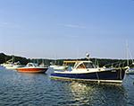 Boats on Moorings, Lake Tashmoo, Martha's Vineyard