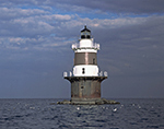 Peck Ledge Light, Long Island Sound, Norwalk Islands