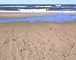 Surf and Sand at LeCount Hollow Beach, Cape Cod National Seashore