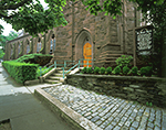 Side Entrance to St. Mary's Church, National Historic Shrine