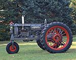 International Harvester F-12 McCormick-Deering Farmall Tractor (Gray), Potterville Museum