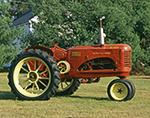 Twin Power 101 Junior Massey-Harris Tractor, Potterville Museum