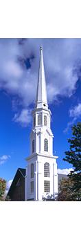 Hospital Point Rear Range Light (First Baptist Church), North Shore