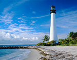 Early Morning at Cape Florida Lighthouse, Bill Baggs Cape Florida State Park
