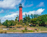 Jupiter Inlet Lighthouse, Intracoastal Waterway, Jupiter, FL