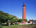 Bright Blue Sky over Ponce de Leon Inlet Lighthouse