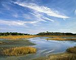 Marsh on Big Talbot Island, Big Talbot Island State Park off Nassau Sound