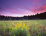 Sunset at West Mountain Wildlife Sanctuary, Berkshire Mountains