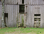 Old Weathered Barn-Front Section, White County, AR
