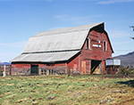 Old Red Barn, Madison County, Kingston, AR