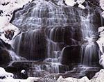 Whitmore Falls in Winter, Sunderland, MA