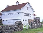 Renovated Dairy Barn and Stonewalls at Jonathan Edwards Winery, North Stonington, CT