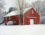 Red Barn after Snowstorm, Petersham, MA