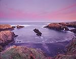 Morning Light on Pacific Coast, Mendocino Headlands State Park, Mendocino, CA