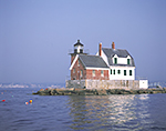 Rockland Breakwater Light, Rockland Harbor, West Penobscot Bay, Rockland, ME