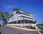 Full View of Mansion House, Corner of Main and State Road, Vineyard Haven, Martha's Vineyard, Tisbury, MA