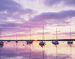 Sunrise at Cuttyhunk Harbor, Cuttyhunk Island, Elizabeth Islands, Town of Gosnold, MA