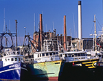 Fishing Vessels (Draggers), New Bedford Harbor, New Bedford, MA