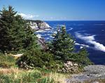 View from Whitehead Toward Blackhead (Shoreline Cliffs), Monhegan Island, ME