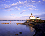 Rose Island Lighthouse, Rose Island, Narragansett Bay, Newport, RI
