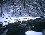 Marlboro Branch (River) in Winter, Marlboro, VT