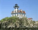 Pomham Rock Lighthouse, Providence River, East Providence, RI