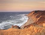 Mohegan Bluffs at Sunrise, Block Island, RI