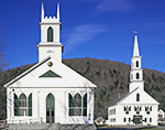 Union Hall and First Congregational Church, Newfane, VT