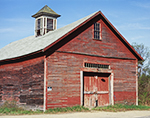 Old Red Barn with Cupola, Athol, MA