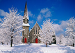 Church of the Unity after Heavy Snowstorm, Winchendon, MA
