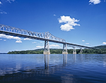 Rip Van Winkle Bridge over the Hudson River, Hudson River Valley, Greene County, Catskill, NY