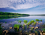 Calm at Churchill Lake, Allagash Wilderness Waterway, ME