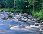 South Branch Grasse River in Late Summer, Adirondack Park, Colton, NY