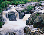 The Flume Fall, West Branch Ausable River, Adirondack Park,  Wilmington, NY