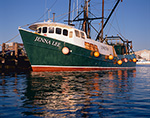 "Commercial Fishing Trawler ""Jenna Lee"" out of Hyannis Harbor, Hyannis, Cape Cod, Barnstable, MA"