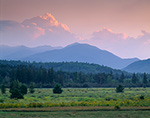 High Peaks in Late Light, Adirondacks, High Peaks, Wilmington, NY
