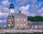 Sheffield Island Lighthouse (built 1887), Long Island Sound, Norwalk Islands, Norwalk, CT