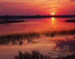 Sunset at Fisher Lake, Chase Lake National Wildlife Refuge, ND