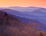 Sunrise, Newfound Gap Area, Great Smoky Mountains National Park, NC