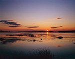 Sunset on Snow Goose Pool, Chincoteague National Wildlife Refuge, Assateague National Seashore, Chincoteague, VA