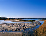 Sandbars and Tidal Creek along Rappahannock River, Chesapeake Bay, Middlesex County, Wake, VA