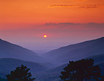 Sunset from Skyline Drive, Shenandoah National Park, VA