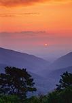 Sunset from Skyline Drive, Shenandoah National Park, VA