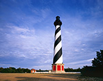 Cape Hatteras Lighthouse in Late Afternoon Light, Cape Hatteras National Seashore, Outer Banks, NC