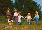 Scarecrow Family, Royalston, MA