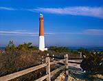 Barnegat Lighthouse and Split-rail Fence, National Register of Historic Places, Barnegat Lighthouse State Park, Barnegat Light, NJ