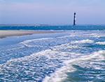 Morris Island Light and Surf, Folly Beach, SC